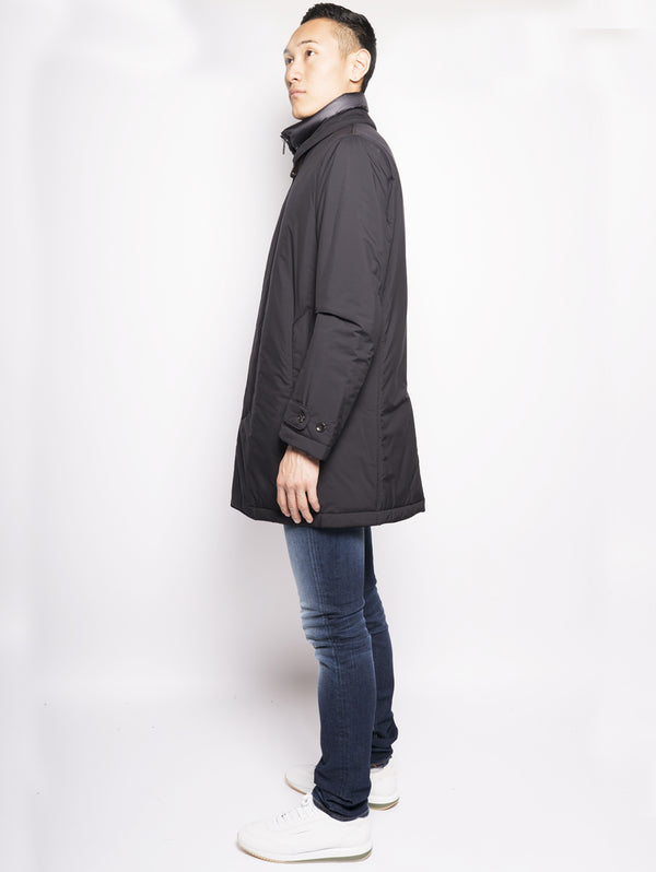 Cappotto in piuma Blu-Cappotto-Montecore-TRYME Shop