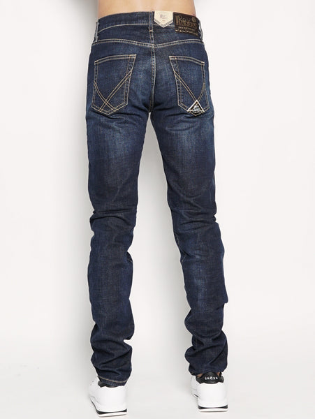 927 historical denim elast. pater  Denim medio ROY ROGERS TRYMEShop