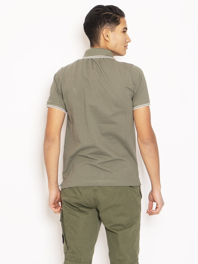 Polo Slim Fit Verde