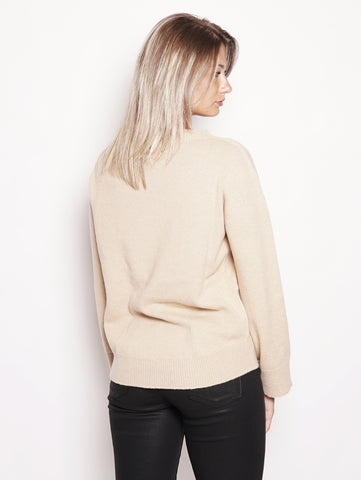 Alpha Studio Maglia in misto cashmere - AD9121/C Cammello Trymeshop.it