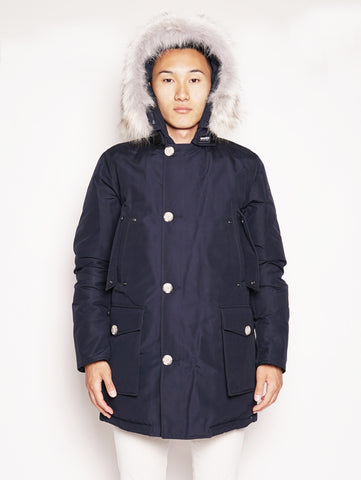 WOOLRICH ARTIC PARKA DF Blu Trymeshop.it
