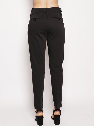 dondup Pantaloni con bottoni Nero Trymeshop.it