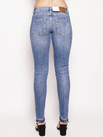 dondup Jeans con orli effetto scucito Denim Trymeshop.it