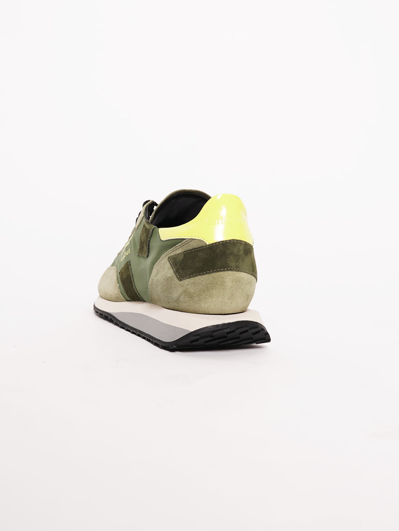 Sneakers Men RUSH Verde-Scarpe-GHOUD-TRYME Shop