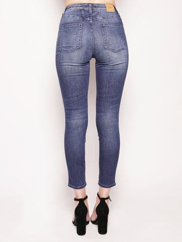 CLOSED Skinny Pusher Blue Stretch Denim Denim Trymeshop.it