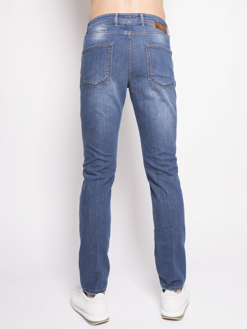 Denim in cotone Denim-Jeans-BRIGLIA 1949-TRYME Shop