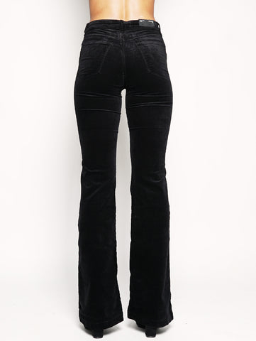 J BRAND Maria Flare high-rise 23021T635 Nero Trymeshop.it