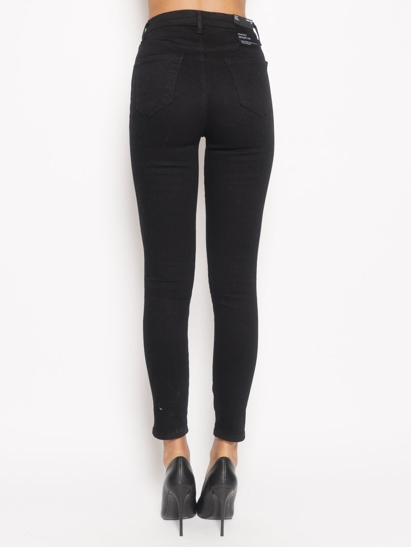 Jeans Leenah High Rise Ankle Skinny Nero
