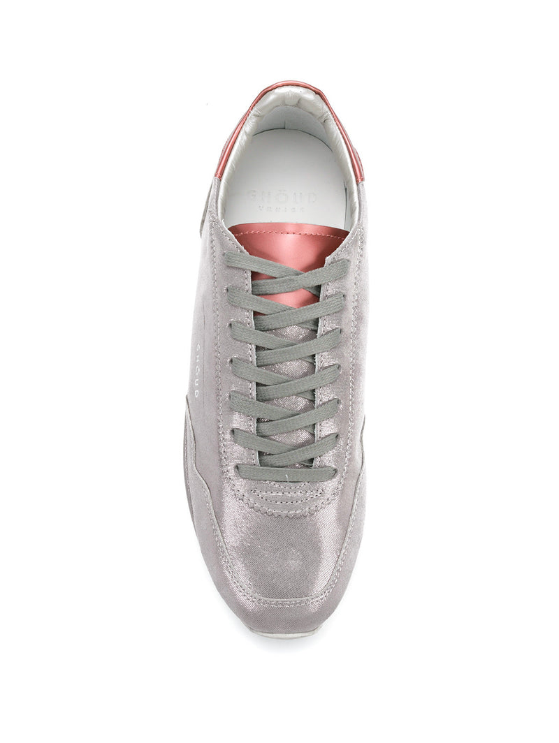 SNEAKERS IN PELLE 45MM Grigio-Scarpe-GHOUD-TRYME Shop