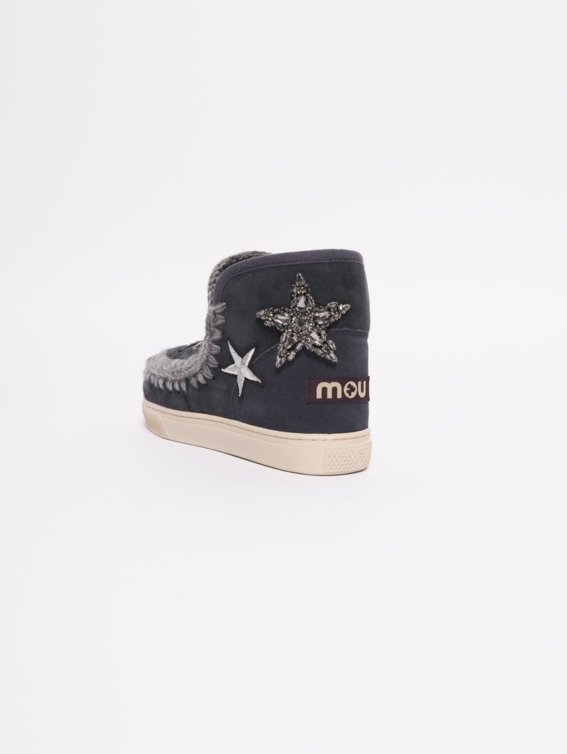 Eskimo Sneaker Star Patches Blu-Scarpe-MOU-TRYME Shop