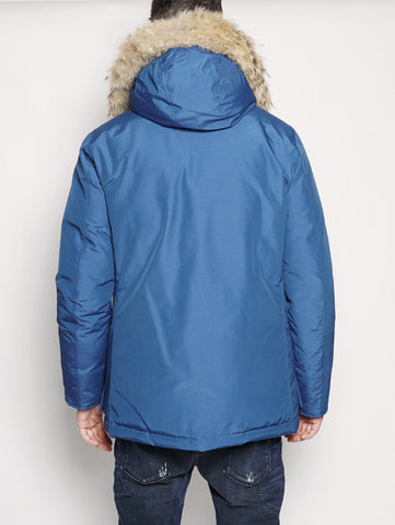 WOOLRICH ARCTIC ANORAK Royal Blu Trymeshop.it