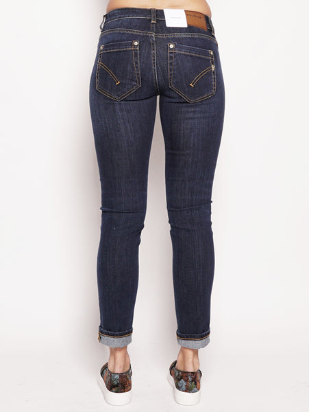 dondup Jeans skinny in denim superstretch Denim scuro Trymeshop.it