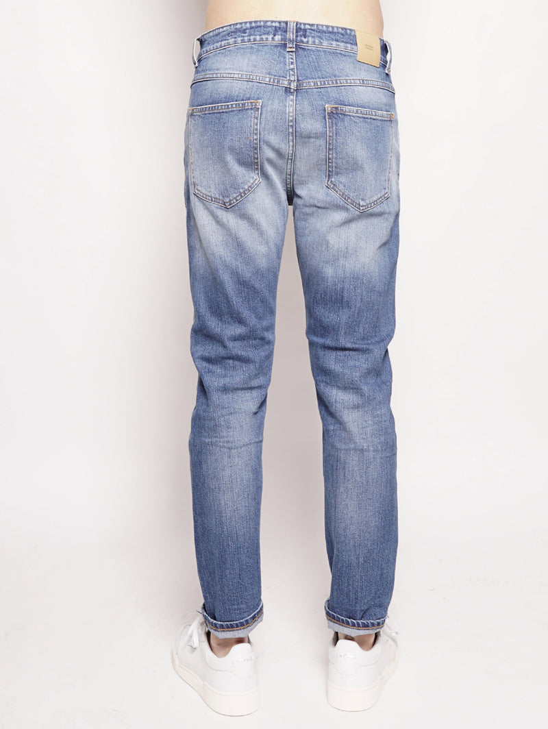 Cooper Tapered Organic Blue Denim Denim-Jeans-CLOSED-TRYME Shop