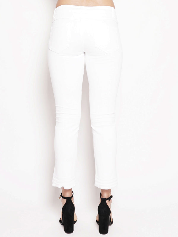 Starlet White Stretch Denim Bianco-Jeans-CLOSED-TRYME Shop