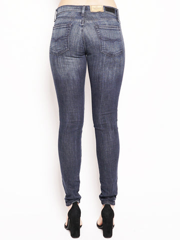 RALPH LAUREN Jeans skinny Tompkins Denim Scuro Trymeshop.it