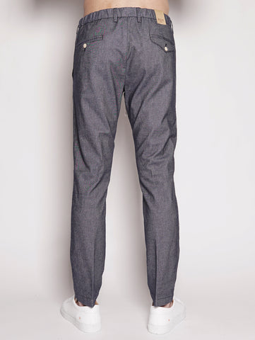 Pantalone in chambry - BG41 Denim