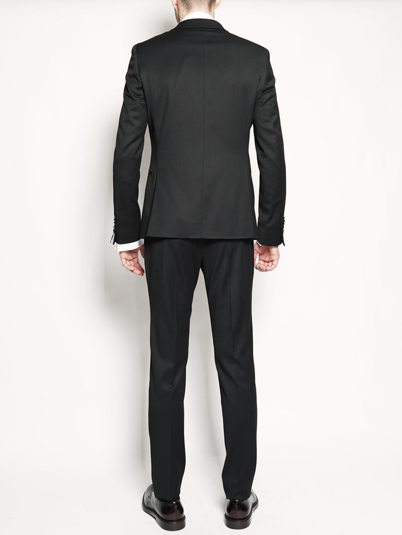 Abito slim fit stretch Nero-Completi-MANUEL RITZ-TRYME Shop