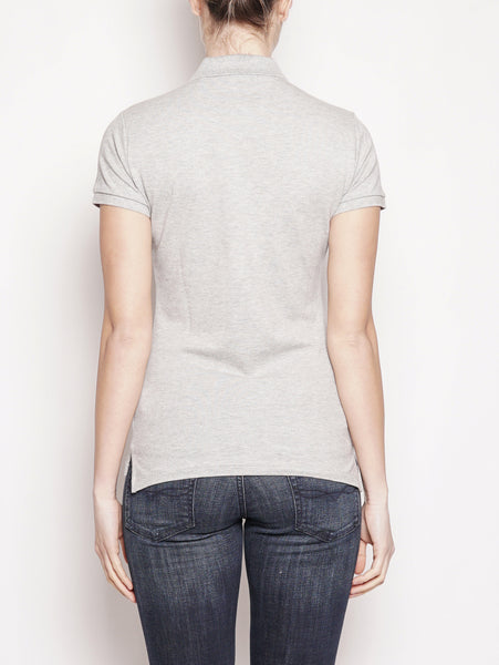 RALPH LAUREN Polo stretch Slim-Fit Grigio Trymeshop.it