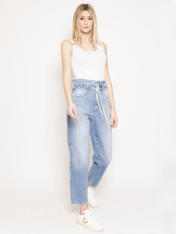 Jeans con Coulisse Lexi Blu