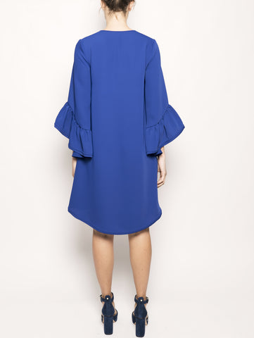 P.A.R.O.S.H. Abito oversize PANTERY D730401 Blu Trymeshop.it