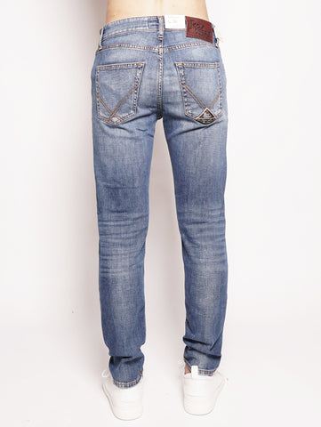 ROY ROGERS 529 Cut Superior Denim Elast. Norizia Denim Trymeshop.it