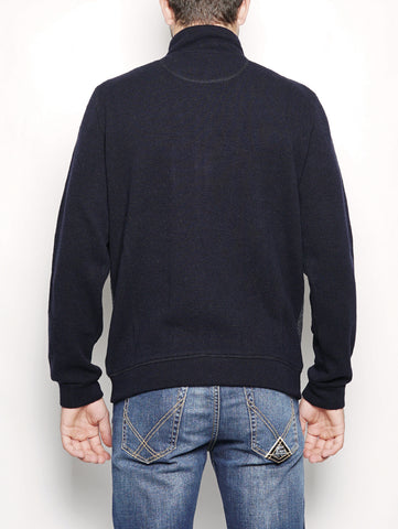 WOOLRICH LIGHT WOOL COTTON TRACK Blu Trymeshop.it