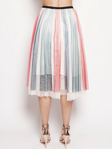 Gonna in tulle Multicolor