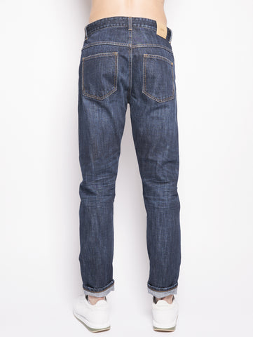 CLOSED Relaxed Cooper Tapered  Denim Scuro Trymeshop.it