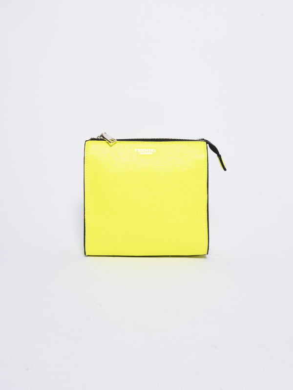 Borsa in PVC e Ecopelle - Smooch Giallo-Borse-ESSENTIEL-TRYME Shop