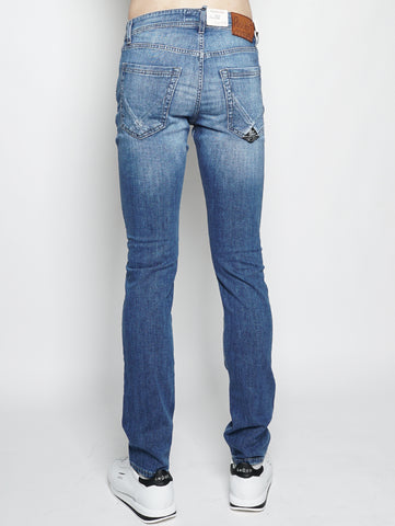 ROY ROGERS Campa superior denim elast. NICK Denim Trymeshop.it