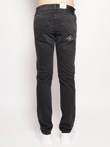 ROY ROGERS 529 Superior Denim Maine Nero Trymeshop.it