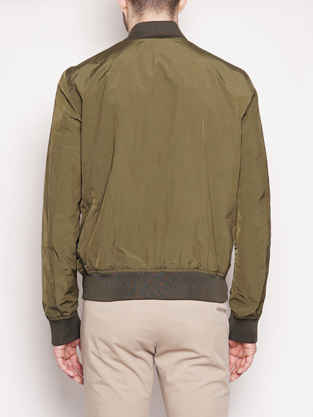WOOLRICH SHORE BOMBER Verde Trymeshop.it