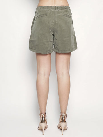 WOOLRICH W'S SUMMER FLUID SH Verde Militare Trymeshop.it