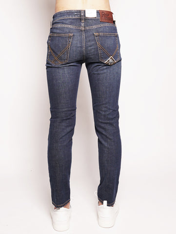 ROY ROGERS 529 Cut Superior PATER Denim Denim Trymeshop.it