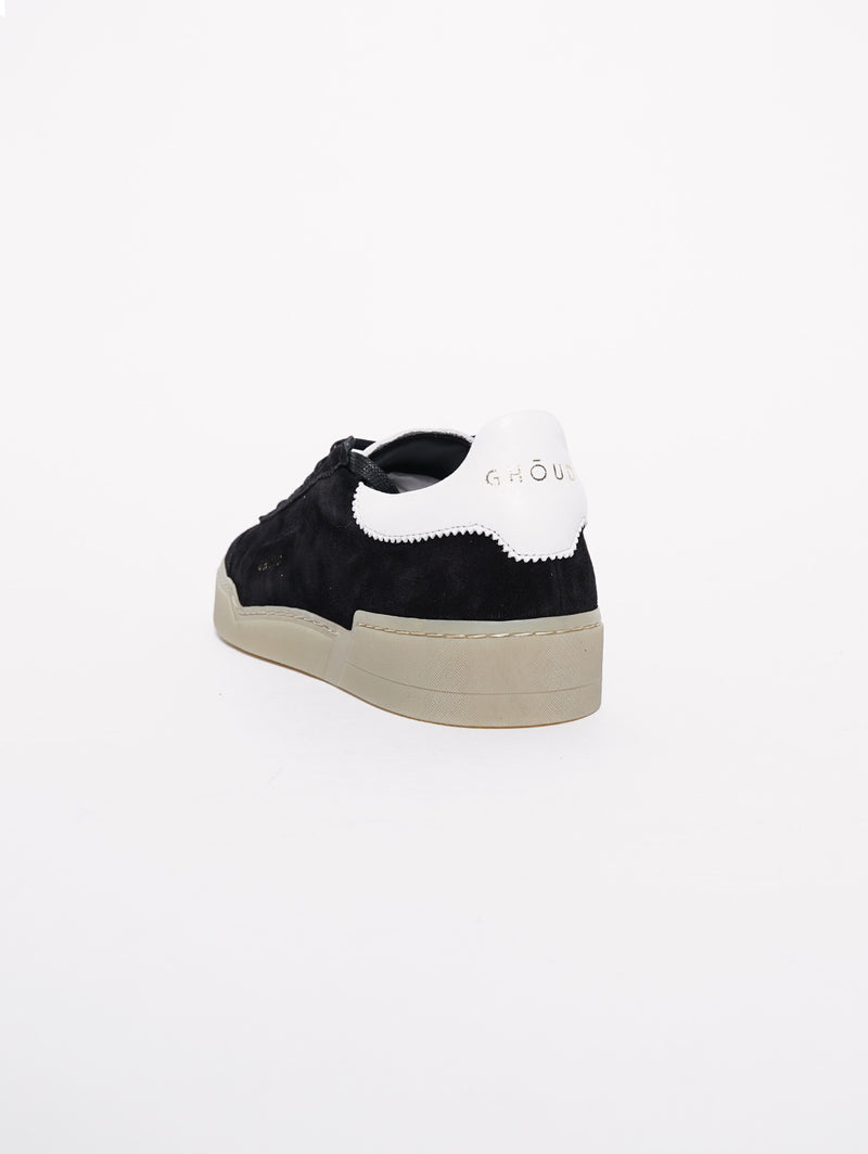 Sneakers in pelle Nero Scamosciato-Scarpe-GHOUD-TRYME Shop