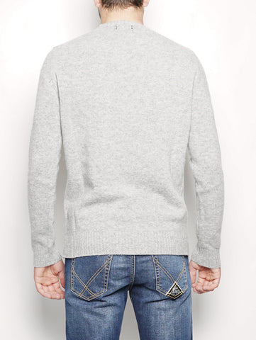 WOOLRICH U.S.A CREW NECK Grigio Trymeshop.it