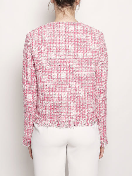Gicca in tweed fantasia Rosa Pinko TRYMEShop