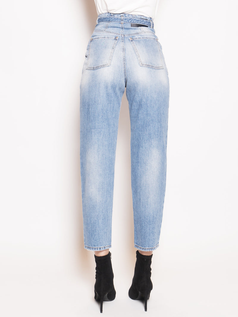 Denim Carrot Fit Nocino Blu