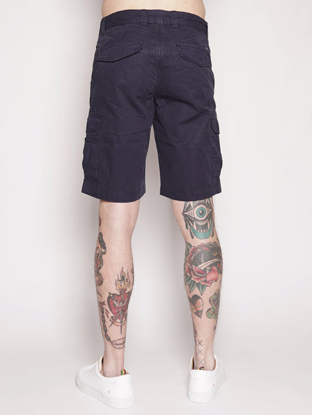 WOOLRICH CARGO SHORT Blu Trymeshop.it