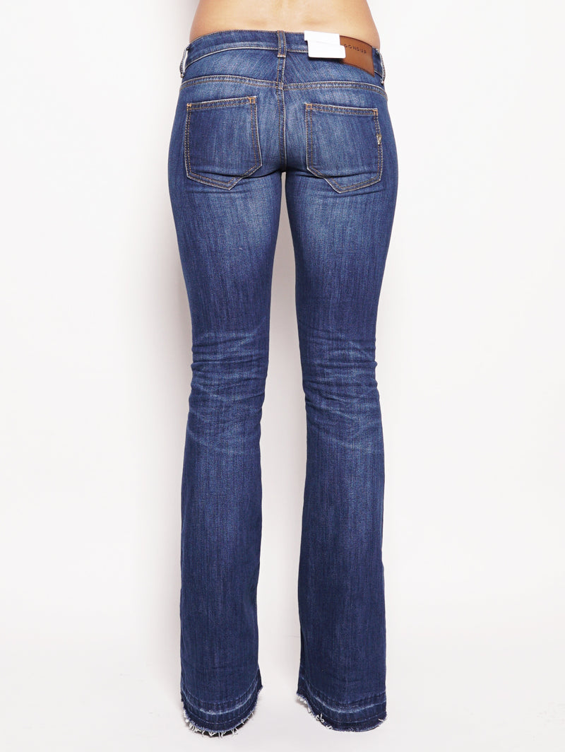 Jeans skinny bootcut in denim stretch Denim-Jeans-dondup-TRYME Shop