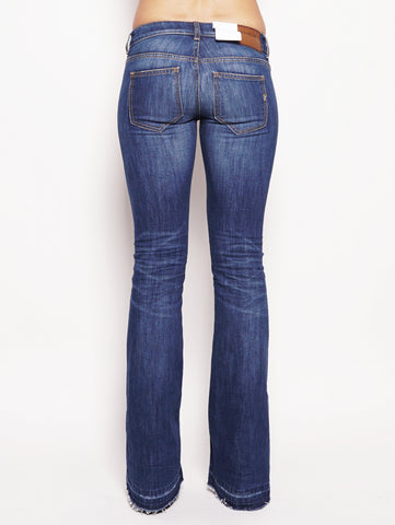 dondup Jeans skinny bootcut in denim stretch Denim Trymeshop.it