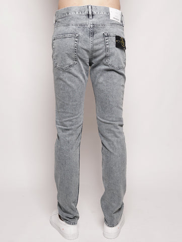 STONE ISLAND J2ZP8 SK_BLEACH - Denim Skinny BLEACH Trymeshop.it