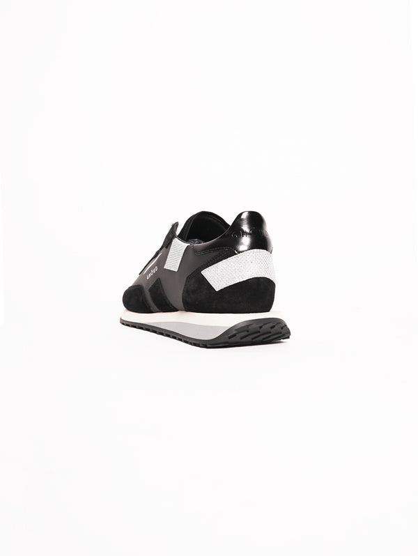 Sneakers Women RUSH Nero / Argento-Scarpe-GHOUD-TRYME Shop