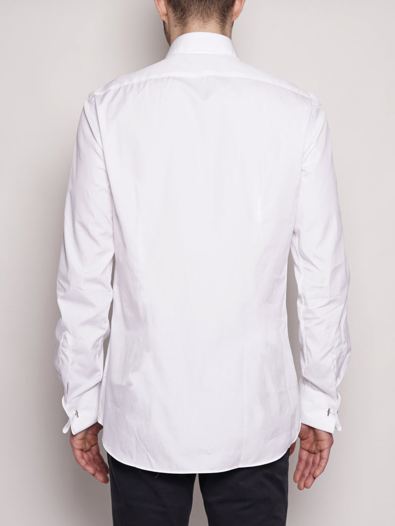 Camicia da smoking 556ML 11930 Bianco-Camicie-XACUS-TRYME Shop