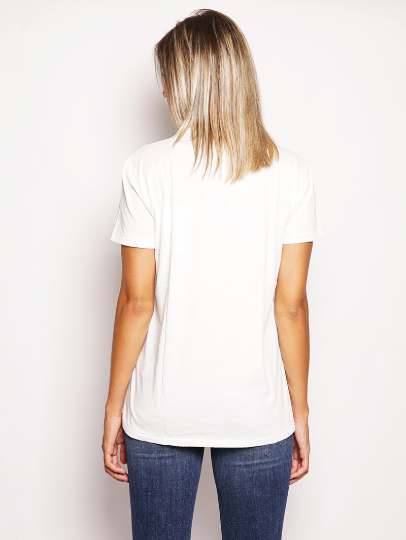 T-shirt in cotone Bianco-T-shirt-RALPH LAUREN-TRYME Shop