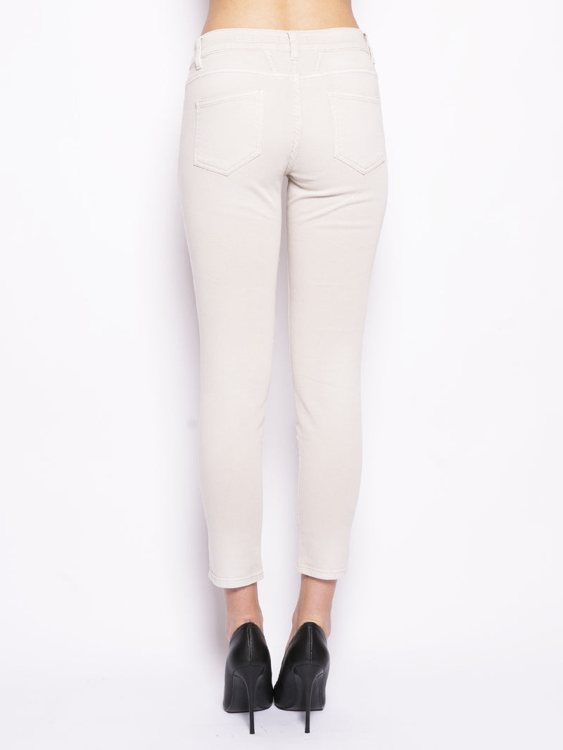 Denim in twill - BAKER Beige-Pantaloni-CLOSED-TRYME Shop