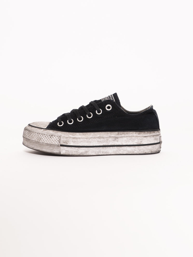 CONVERSE-Chuck Taylor All Star OX LIFT - Nero-TRYME Shop