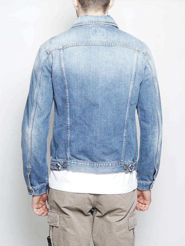 Jacket Simply in Denim Denim-Jacket-ROY ROGERS-TRYME Shop