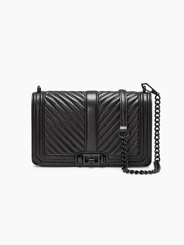 Rebecca Minkoff-Small Love Crossbody Nero-TRYME Shop