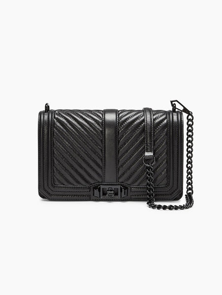 Small Love Crossbody Nero